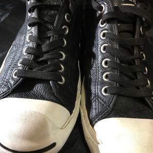 Jack Purcell Converse - leather low cut chucks - 9